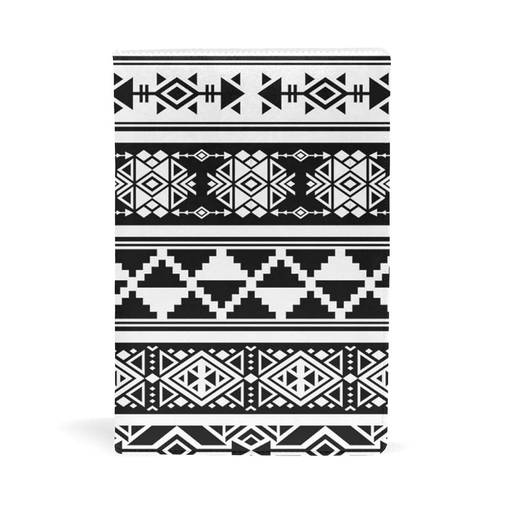 多様な三番入場料アフリカスタイルの柄 ブックカバー 文庫 a5 皮革 おしゃれ 文庫本カバー 資料 収納入れ オフィス用品 読書 雑貨 プレゼント耐久性に優れ