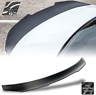 AeroBon Real Carbon Fiber Trunk Spoiler for 05-13 BMW E92 3-Series Coupe and M3 (High Kick Type)