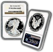2001 W American Silver Eagle $1 PF70UCAM NGC