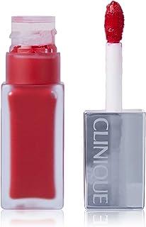 Clinique Pop Liquid Matte Lip Colour and Primer - 02 Flame Pop, 6 ml