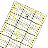 WINTEX Règle de couture 15 cm x 30 cm, transparente - règle pour cutter à...