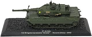 Deagostini 1:72 Diecast Model Tank - C1 Ariete 132 Brigata Corazzata Ariete Novara Italy 2002 Army Tank #12