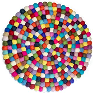 felt ball rug nursery