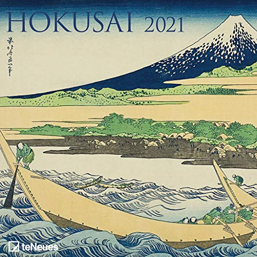 Art Calendar - Hokusai 2021 Square Wall Calendar