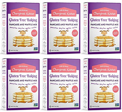 Cherrybrook Kitchen Gluten Free Pancake amp Waffle Mix 18 oz Pack of 6