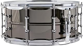 Ludwig Black Beauty Snare Drum - 6.5 Inches X 14 Inches Tube Lug