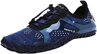Oyedens Scarpe Mare Uomo Sneakers Sportivi Uomo Trekking Scarpe da Spiaggia All'Aperto Pescatore Piscina Acqua Mare Escurs...