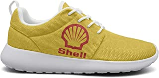 Mens Stylish Shoes New Shell-Gasoline-Fuel-Card-Yellow- Sneakers Trainer Latest Shoes