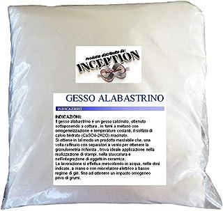Inception Pro Infinite 1kg Yeso alabastrino Scagliola Adecuado para fundición en moldes de Silicona y más