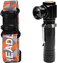 Oplaadbare multifunctionele LED-zaklamp Ingebouwde batterij USB Opladen met voor Night Riding Night Fishing Camping (Emitt...