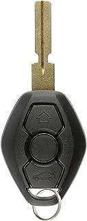 KeylessOption Keyless Entry Remote Control Car Key Fob Notch Style Replacement for BMW LX8 FZV