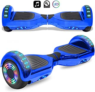 cho Electric Smart Self Balancing Scooter Hoverboard Built-in LED Wheels Side Lights- UL2272 Certified