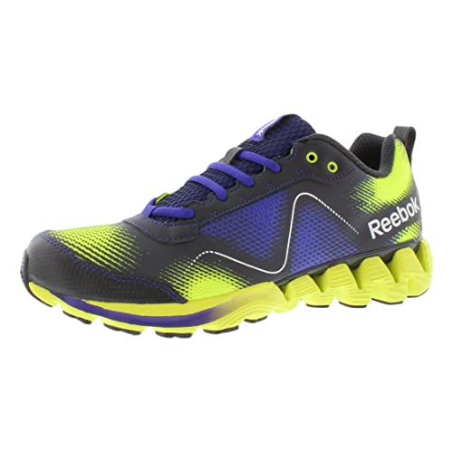 69e4abafa8b Reebok Zigtech Wild Solar Yellow Ultimate Purple