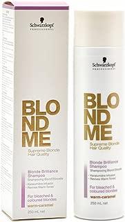Schwarzkopf Professional BlondMe Blonde Brilliance Shampoo Warm 250ml