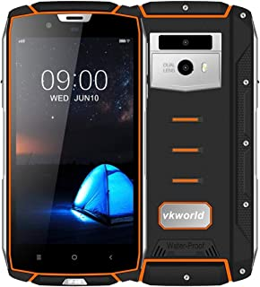 Smart Phones VK7000 Triple Proofing Phone, 4GB+64GB, IP68 Waterproof Dustproof Shockproof, Dual Back Cameras, 5600mAh Batt...