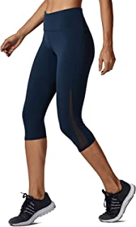 a2410d6189f653 CRZ YOGA Women's High Waist Squat Proof Compression Workout 7/8 Tight  Leggings With Pocket