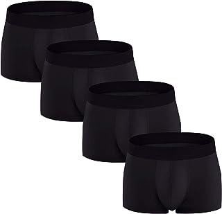 2fc8ea4dc403f1 FGFD Boxer Uomo Intimo Traspiranti Cotone Elast Mutande Comodo Morbido  Pantaloncini