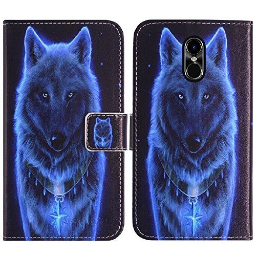 TienJueShi Wolf Flip Book Stand Brieftasche Leder Tasche Schütz Hülle Handy Telefon Case Für Timmy M20 Pro 5.5 inch Abdeckung Fall Wallet Cover Etüi