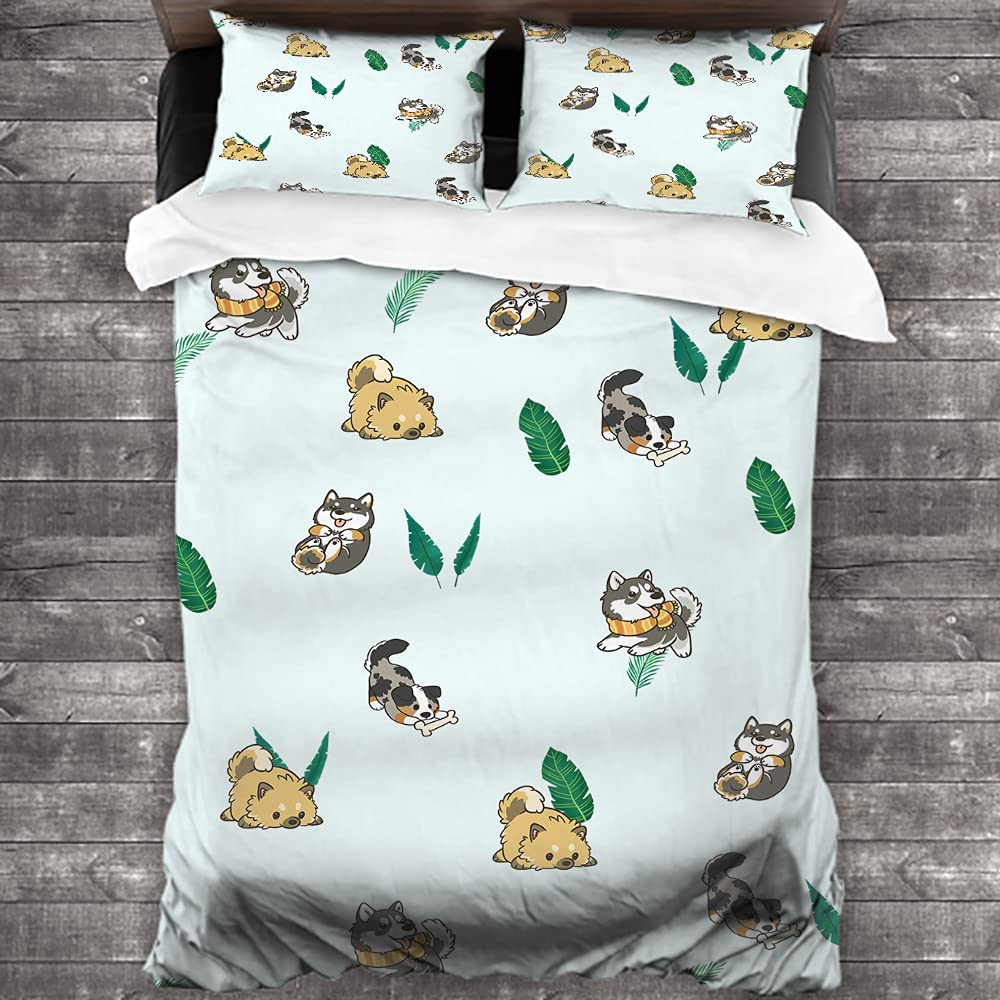 fucyBu Cute Cartoon Animals Dogs for 3 Baby P Max 45% OFF Bedding Dealing full price reduction Child Kids