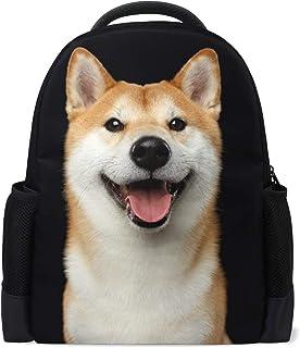 VAMIX バッグ リュック サック 男女兼用 メンズ レディース 通勤 通学 大容量 ギフト プレゼント 柴犬 犬柄