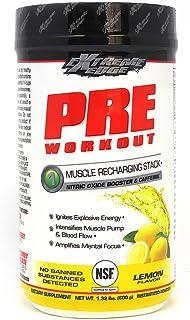BlueBonnet Nutrition Extreme Edge Pre Workout Powder, 1.32 Pound, Lemon Flavor, 21.12 Ounce