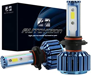 AUTOVIZION 9004(HB1) LED Headlight Bulb for any 9004 Halogen Headlight Bulb upgrade to