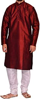 Ethnic Wear Bollywood Indian Men's Kurta Pajama Traditional Special Eid Dress