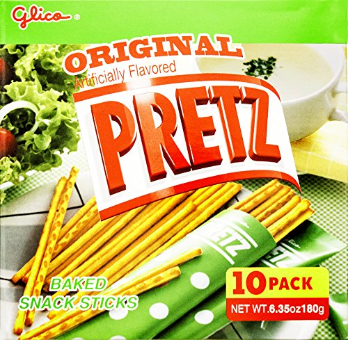 Glico Pretz Original Baked Snack Sticks, 6.35 Ounce