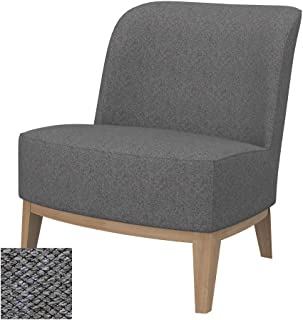 Soferia Replacement Cover for IKEA Stockholm Chair Cover, Fabric Nordic Grey