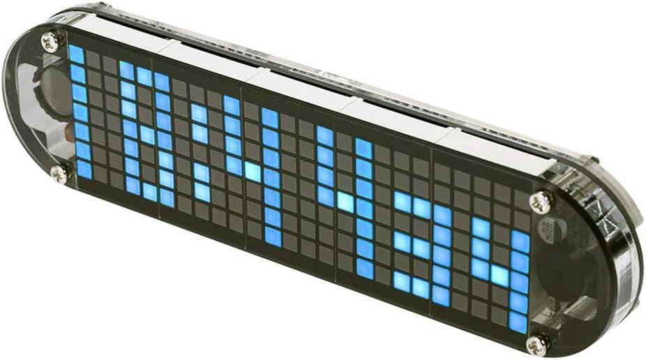Abnana Dedication DS3231 Multifunction Alarm Clock Translated Animation Matrix LED Dot