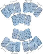 Compex dura stick 5 cm square 42198 homme elettrodo wellness blanc