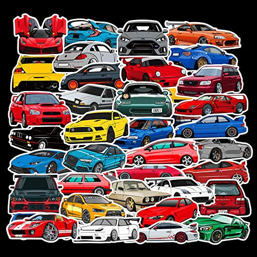 JDM Car Stickers for Laptop (100 PCS),Gift for Children Teens Adults Girl...