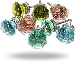 Set of 8 Summer Sea Glass Knobs by Trinca-Ferro