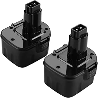 ANTRobut Upgrade 2 Pack 3500mAh Replacement for XRP Dewalt 12V Battery DW9071 DW9072 DE9037 DE9071 DE9072 DE9074 DE9075 Dewalt Battery 12Volt