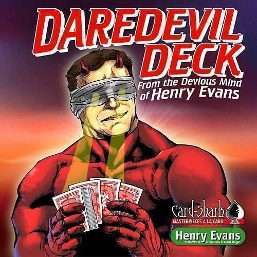 Daredevil Deck - by Henry Evans (DVD & Gimmick) - Zaubertricks und Prop