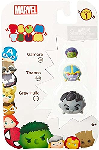 ahorra hasta un 30-50% de descuento Tsum Tsum Marvel 3-Pack  Hulk (gris) Thanos Gamora Toy Toy Toy Figure  tiempo libre
