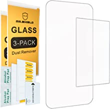 [3-Pack] Mr.Shield for Nintendo 2DS XL 2017 [3X Top Glass + 3X Bottom Anti-Glare PET] Screen Protector with Lifetime Replacement