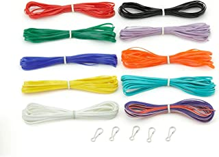 Hygloss Products 38599 45 Yards Glow-in-The-Dark Plastic Cord,