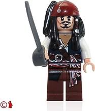 Jack Sparrow Lego Pirates of the Caribbean Minifigure (Loose)