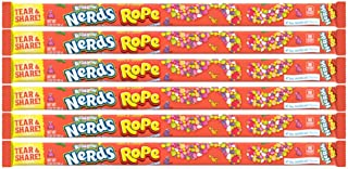 Wonka Rainbow Nerds Rope (pack of 6)
