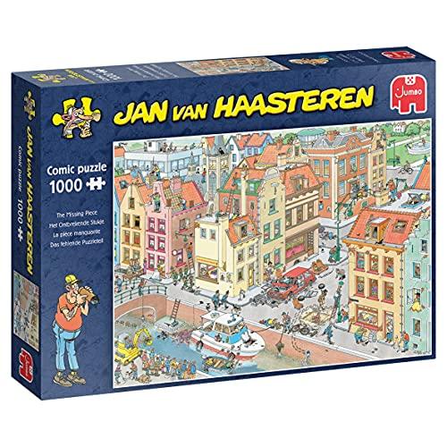 Jumbo 20041 Jan Van Haasteren-Puzzle für NK-Puzzle-Wettbewerb-1000 Teile Puzzlespiel, Mehrfarben