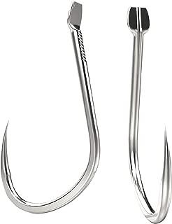 WAKILO No Barbed Fishing Hook 9#-13# Set Total 100 PCS