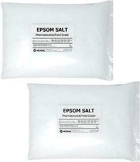 Hexeal EPSOM SALT | 10KG BAG | 100% Pharmaceutical | FCC