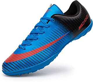 Topoption Football Shoes Men Trainers Boys Junior Rugby Outdoor Sneakers Wear-Resistence Soccer Shoes Unisex Boots