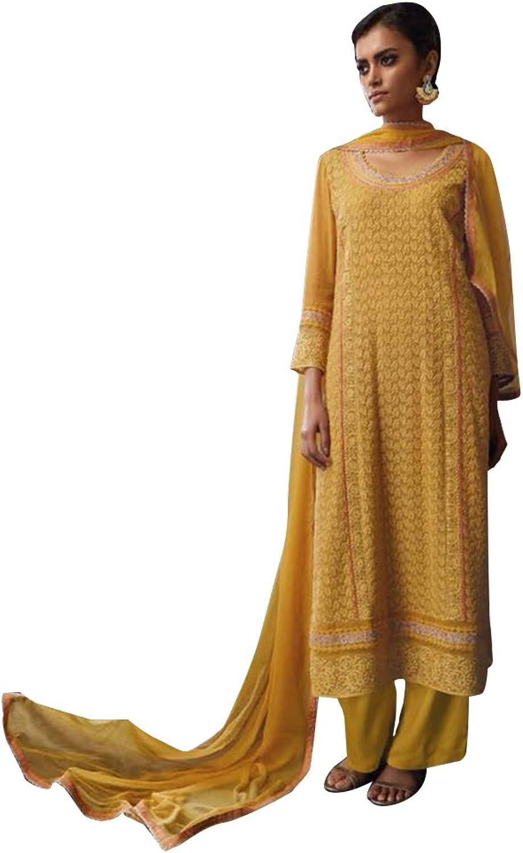 Bollywood Anarkali Dresses for women Salwar Kameez Ceremony Wedding Punjabi 752 10