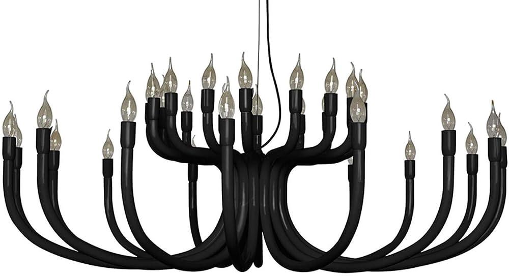 Karman snoob, lampadario con 32 sorgenti luminose,in alluminio SE609N