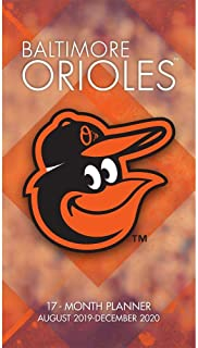 Baltimore Orioles 2020 Monthly Planner