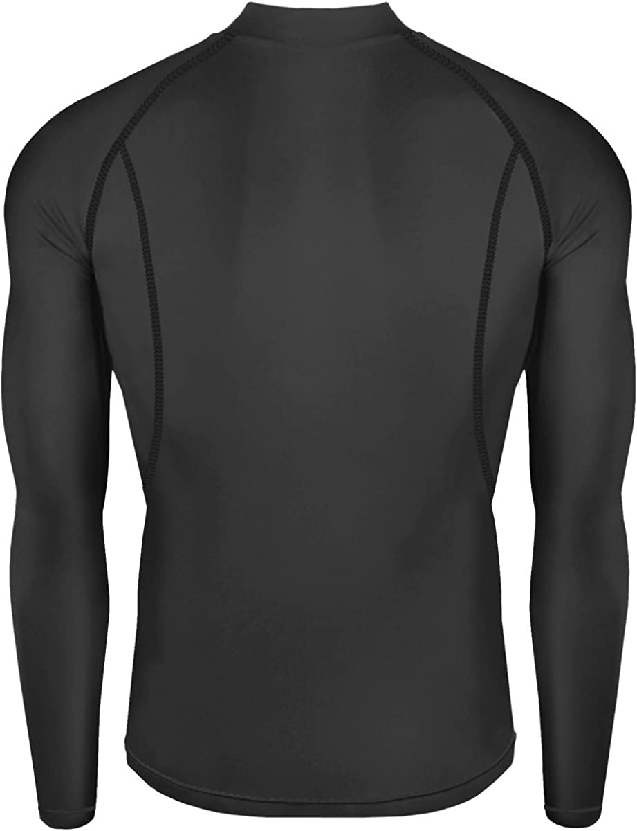 New Men Athletic Apparel Long Sleeves Shirts Skin Tights Compression Base Under Layer Top