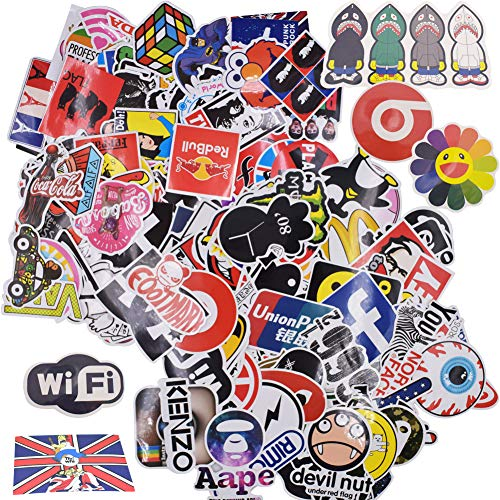 200Pcs Stickers, JPYH Graffiti Stickers,Trendy Sticker,For Bicycles, Skateboards, Suitcases, Laptops, Motorcycles, Bumpers, DIY Supplies