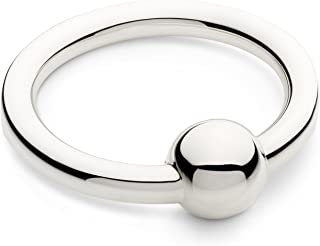 silver teething ring